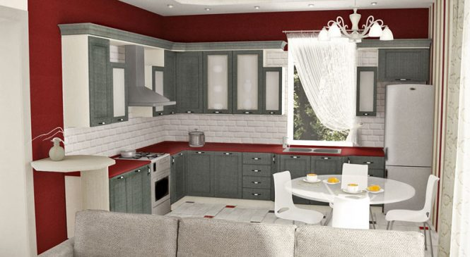 Услуги по подбору дизайн проекта кухни