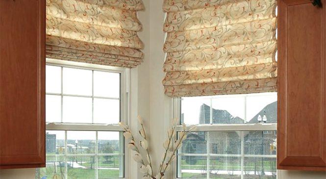 Римские шторы гармошкой