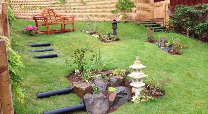 Секреты оформления лужайки в природном стиле