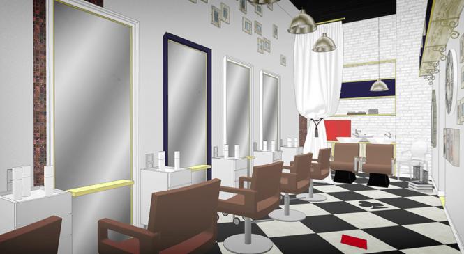 Создание салона: разработка концепции и дизайна