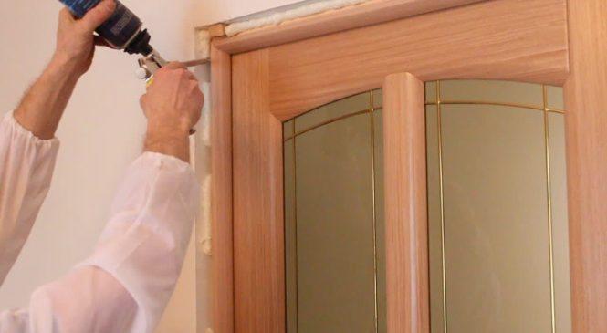 Установка внутренних межкомнатных дверей