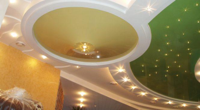 Натяжные потолки – признак современности.