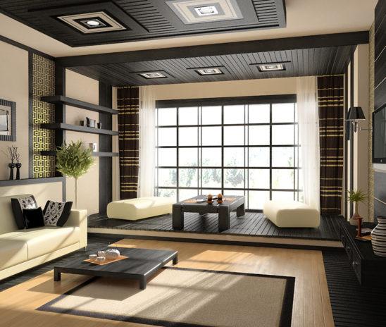Стили интерьера гостиной комнаты