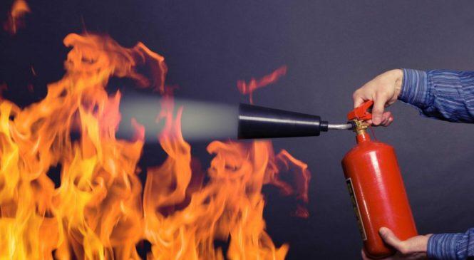 Огнетушитель, как первый помощник при пожаре