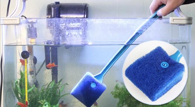 Приспособления для чистки стенок аквариума