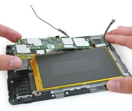 Особенности ремонта планшетов
